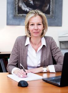 Karine Chotin de l'Immobilière de Vaires